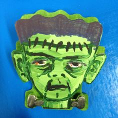 You can paint your own Frankenstein monster! Check 'em out! http://www.sciplus.com/p/GRAVESTONE-AND-SKULLCROSSBONES-CLIPS_55603