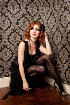 Hair Makeup, Goth, Make Up, Hair Styles, 1920s, Fashion, Gothic, Hair Plait Styles, Moda