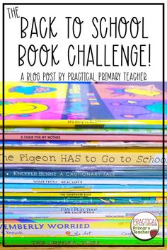 Are you looking for a fun way to get your young students excited about reading? Each year, I do a Back to School Book Challenge and it is always a hit! Check out my blog post to read about how we do this and why it's a great idea for young readers.