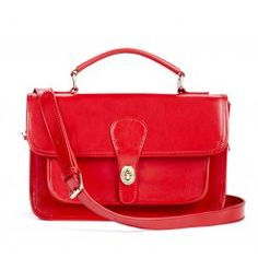 Britt bag in red $129.95