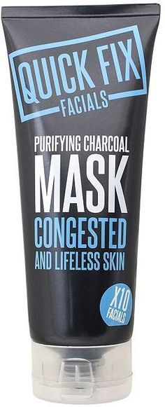 Pin for Later: Say Bye-Bye to Blackheads Without Squeezing a Single Spot Quick Fix Facial Purifying Charcoal Mask Quick Fix Facial Purifying Charcoal Mask (£3, originally £5)