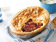 Beef and Bacon Pot Pie