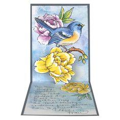 Stampendous - BIRD BLOSSOM Cling Rubber Stamps 6pc – Hallmark Scrapbook
