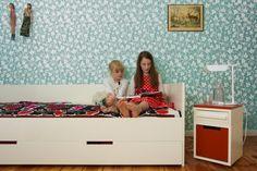 Bett mit Schublade