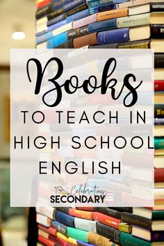 Books for High School English