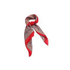 Lenço Vermelho de Satin - SMM Lenços #lenços #lenço #scarf #scarfs