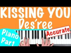 How to play 'KISSING YOU' - Des'ree (ALL PARTS FREE) | Piano Chords Tutorial - YouTube