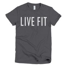 """""""Live Fit"""" Tee"""