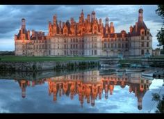 Chateau de Chambord- Loire Valley, France. Had a lovely visit here on my last trip to France.