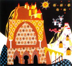 the art and flair of mary blair - Google Search