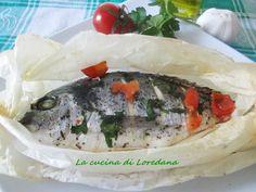 Orata al cartoccio - Ricetta pesce