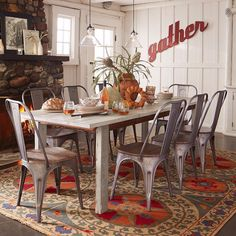 Gather and celebrate in the spirit of the season…wishing you a wonderful Thanksgiving #sundancecatalog #happythanksgiving #holidaytable