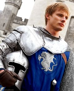 Prince Arthur...why is it blue? I don't remember the blue. It was always red and or gold.