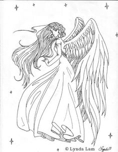 Gothic Angel Generally the proper coloring pattern plays an important role as a picture, Here well finish the step by step tutorial of how to draw angel with wings. Description from manassas-4522-25.korotkevich.biz. I searched for this on bing.com/images