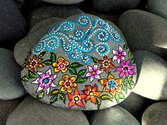 Gentle Breeze / Painted Rock/ Sandi Pike por LoveFromCapeCod