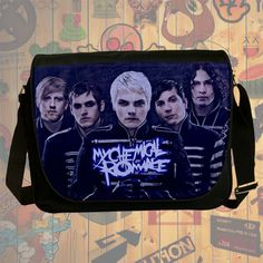 NEW Custom : My Chemical Romance Messenger School Laptop Bag By Gift Ideas #06