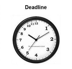 #time #work #deadline #funny