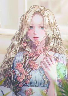 Arte Digital Fantasy, Digital Art Girl, Pretty Anime Girl, Beautiful Anime Girl, Preety Girls, Manga Girl, Anime Art Girl, Anime Girl Dress, Girl Cartoon