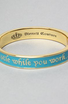 Disney Couture Jewelry - The Whistle While You Work Bracelet