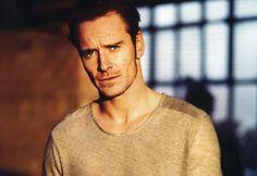 very good looking man, Michael Fassbender