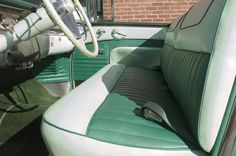 1956 Buick Roadmaster Convertible - Reupholstered Front Seat and Door Panel - LeBaron Bonney Company: www.lebaronbonney.com (8)