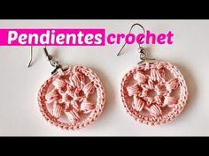 Pendientes crochet super faciles - YouTube