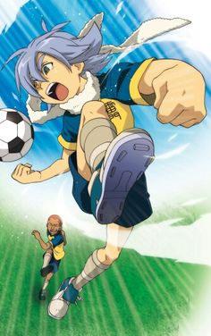 Inazuma eleven - Someoka and Fubuki