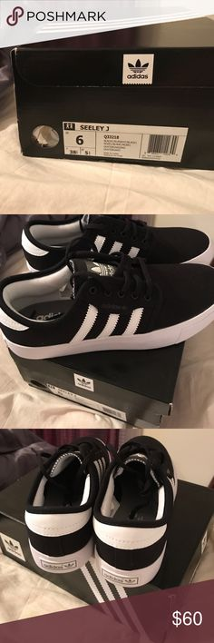 New Adidas Tennis Shoes (SEELEY~J) Brand New Adidas Canvas Tennis Shoes Adidas Shoes Sneakers