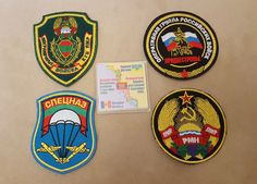 Transnistria Army STRIPE SET Chevron Patches Badges Tapes Original coat heraldry