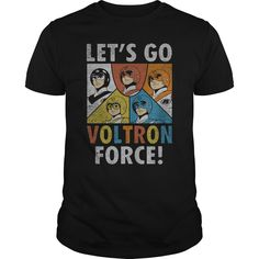 Voltron Force T-Shirts, Hoodies. BUY IT NOW ==► https://www.sunfrog.com/TV-Shows/Voltron-Force-Black-Guys.html?id=41382