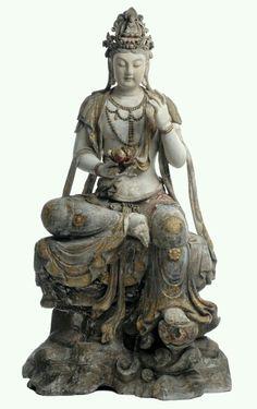 #statue #compassion #androgyny #meditation #buddhist #chinese 觀世音菩萨