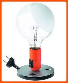 Lampadina table lamp - orange, 110 - 125V (for use in the U.S., Canada etc.) - Unique lighting lamps (*Amazon Partner-Link)