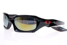 Oakley Gascan Sunglasses Black Frame Colorful Lens 0506 Summer Sunglasses bff0f9b920a