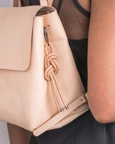 DIY nautical knot bridesmaid gift idea