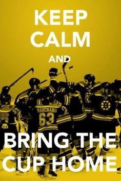Keep Calm Boston Bruins