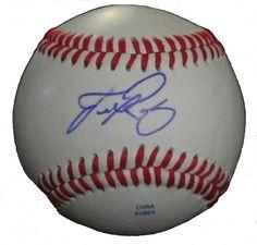 Francisco Rodriguez Los Angeles Angels Baseballs