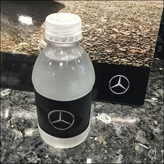 After a long, hard day of luxury car shopping, Mercedes Benz Manhattan offers… Spring Water, Car Shop, Drink Bottles, Luxury Cars, Manhattan, Close Up, Mercedes Benz, Water Bottle, Retail