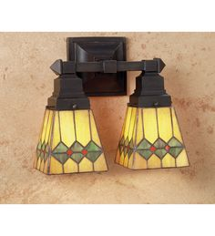 12 Inch W Martini Mission 2 Lt Wall Sconce Wall Sconces