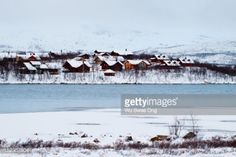 01-26 Norwegian resort village opposite town of Kilpisjarvi in... #kilpisjarvi: 01-26 Norwegian resort village opposite town… #kilpisjarvi