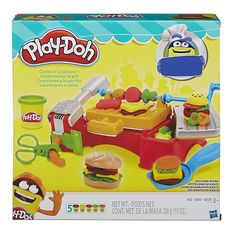 """Play-Doh Cookout Creations - Hasbro - Toys """"R"""" Us Play Doh Toys, Kids Store, Toy Store, Shopkins, Dango Peluche, Lps, Play Doh Kitchen, Toys R Us Canada, Gifts"""