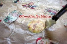"""Two Crafty Mules: Resin Troubleshooting Tips - Preventing """"Wet Out"""""""