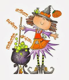 Witch and Cauldron Clip Art Halloween Clipart, Halloween Drawings, Halloween Painting, Halloween Pictures, Halloween Cards, Holidays Halloween, Fall Halloween, Happy Halloween, Halloween Decorations
