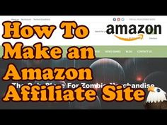 2. Additional ideas and instructions I found in this video. Make your own Amazon Affiliate site with WordPress and WooCommerce. Check out the site you'll be making: http://zombiemerc.com/ - you don't have to promote Z...