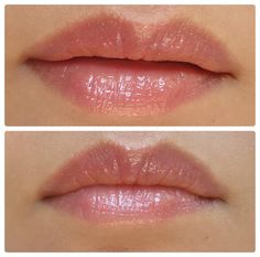 NYX Round Lipgloss in Shade Strawberry – Review and Swatches.