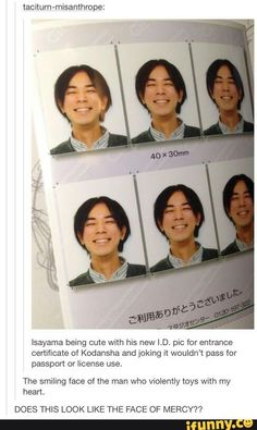 He looks so happy knowing how much he's hurting us Attack On Titan / SnK Ereri, Levihan, Anime Meme, Anime Manga, Manga Boy, Hetalia, Attack On Titan Meme, Eren X Mikasa, Aot Memes