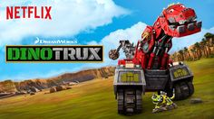 DreamWorks and Netflix have hit the kid sweet spot by combining dinosaurs and construction vehicles. Check out Dinotrux, all 10 episodes of the first season drop on 8/14! #ad #StreamTeam