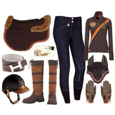 Great fall look :) Would look awesome if I had a nice dark bay again though haha or perhaps. a spanish buckskin colt? Here's to wishin'! Equestrian Chic, Equestrian Outfits, Equestrian Fashion, Horse Riding Clothes, Riding Gear, Riding Boots, Hv Polo, Horseback Riding Outfits, Horse Fashion