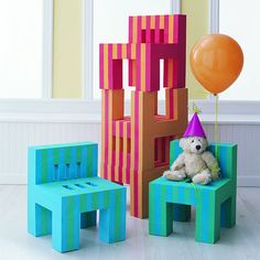 Kids EVA Foam Chairs - these are sweet!!