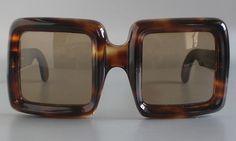 $15,000 Lanvin by Philippe Chevallier Unique Vintage 70's Lady Sunglasses | eBay