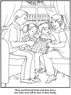 Dover Publications Our New Baby Coloring Book